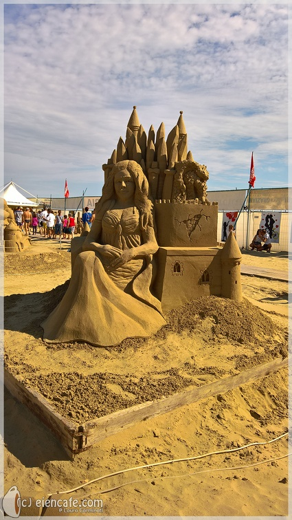 Sand Sculpture - Winter is coming